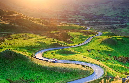 Road to Edale