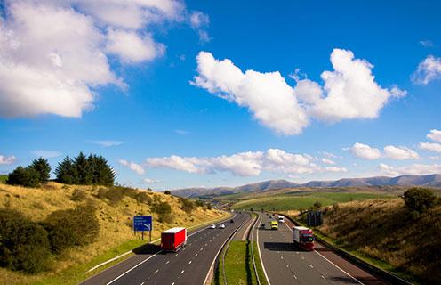 Lake district M6 motorway