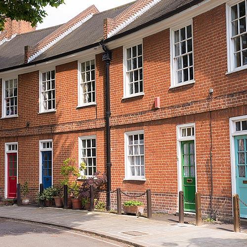 Kennington Victorian Brick Houses